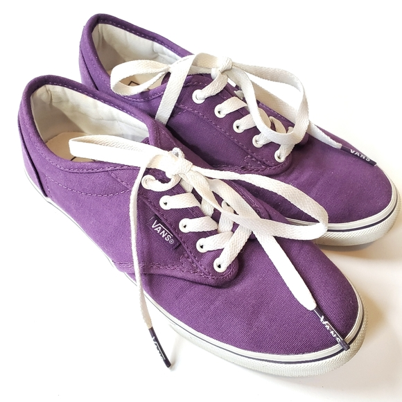 Vans Shoes   Purple Off The Wall   Poshmark